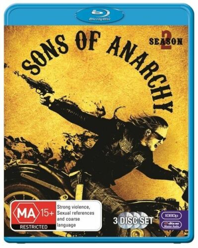 1 of 1 -  Sons Of Anarchy: S2 Season 2 Blu-Ray Region B AUSTRALIAN SELLER.