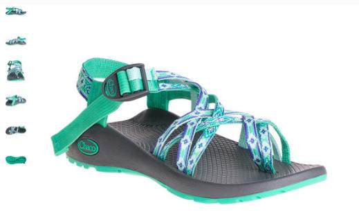 Chaco ZX 2 Classic Marina Mint Comfort Sandal Women's sizes 5,7,8 NIB
