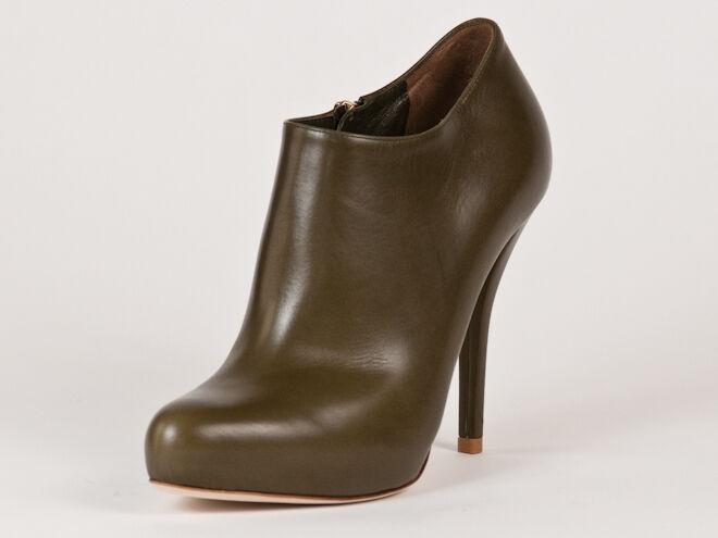New Christian Dior Miss Dior Grün Leder Booties US 35.5 US Booties 5.5 03bac0