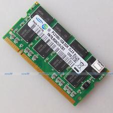 Samsung 1GB PC2100 DDR266 266Mhz 200PIN Laptop SO-DIMM Speicher 1G RAM Full Test