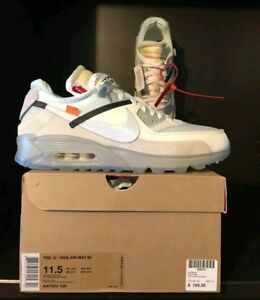 2c9e6c3e71c Details about The Ten - Nike Air Max 90 x Off White - Size 10 - RARE!!  StockX Authentic