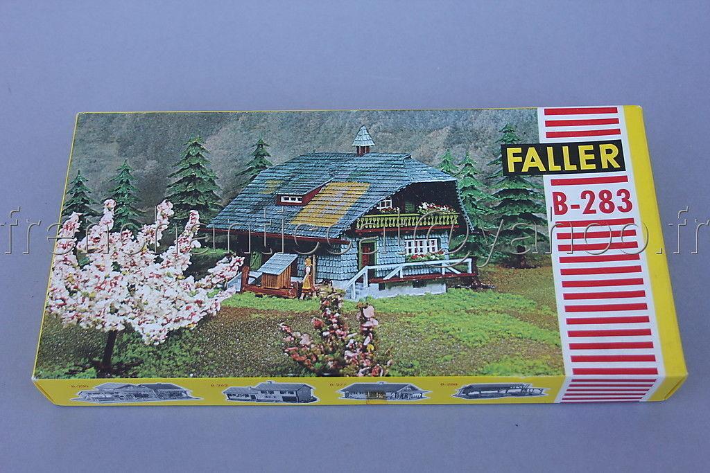 ahorra hasta un 70% C878 Rare maquette FALLER FALLER FALLER ho B-283 8283 4 25 negrowald Ferienhaus 1960 chalet  disfrutando de sus compras