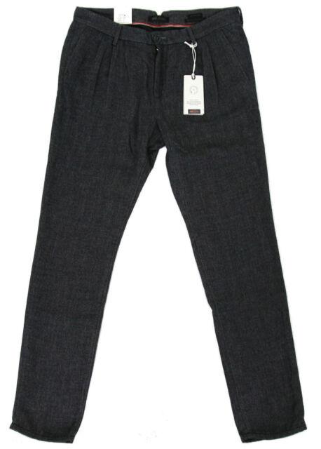 MAC Jeans SELECTED LENNARD Herren Chino Hose Lang Men Pants W33 L32 HERRINGBONE