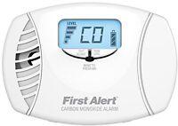 Carbon Monoxide Plug-in Alarm, Home Safety Health Security Detectors Dual Power on sale