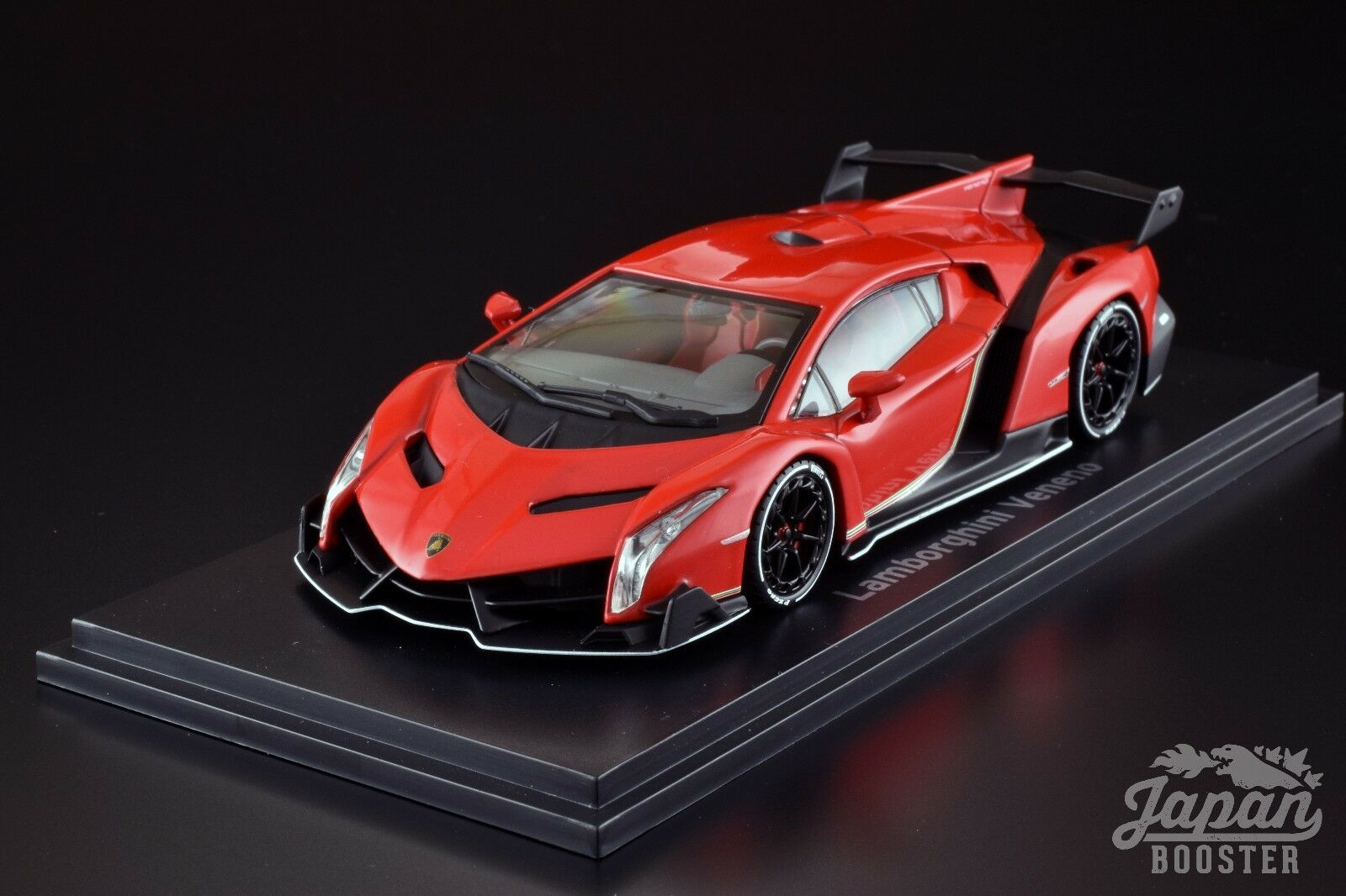 [KYOSHO ORIGINAL 1/43] Lamborghini Veneno rosso Peal/bianca Line rosso KS05571RPW