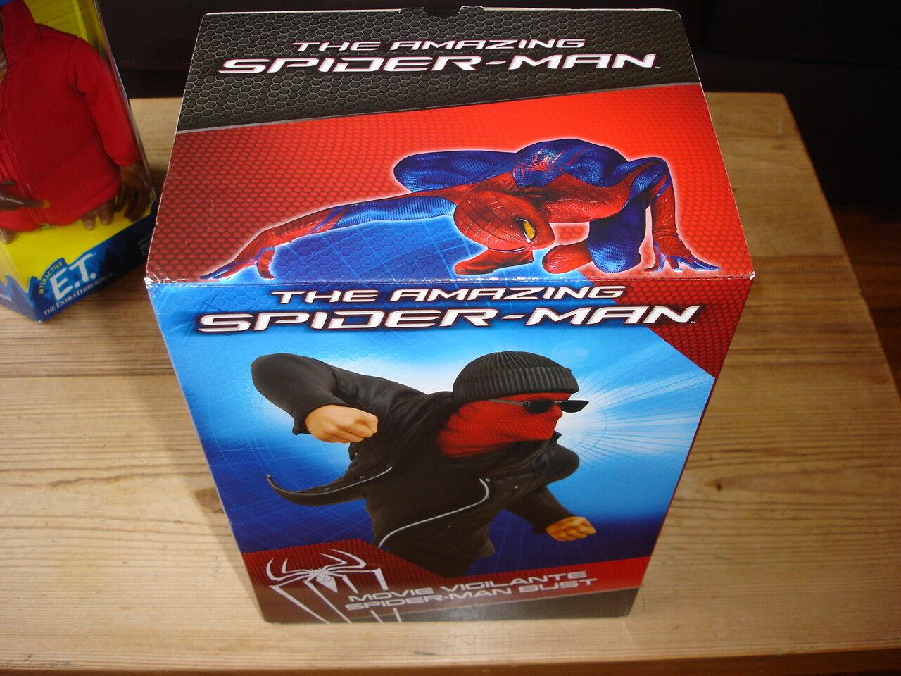 Amazing Spider-Man Vigilante Bust - Diamond Select - - - New - spiderman  262 2012 30c351
