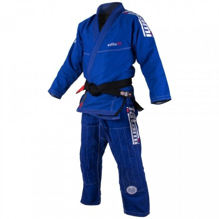 Tatami Bjj Blu Gi Estilo 6.0 Blu Bjj Bianco Jiu Jitsu Brasiliano Karategi Kimono 9d47f3