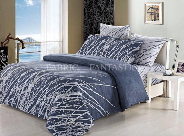 ESHA Tree Queen Size Bed Quilt/Doona/Duvet Cover Pillowcases Set New