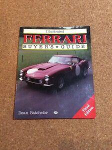 Ferrari Buyers Guide Dean Batchelor Ebay