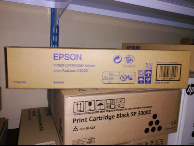 Epson Aculaser c4000, c4000ps Toner Yellow C13S050088 Original New S050088