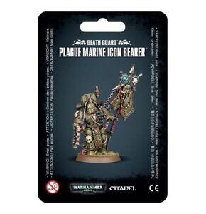 Plague-Marine-Icon-Bearer-Warhammer-40K-NIB-Flipside