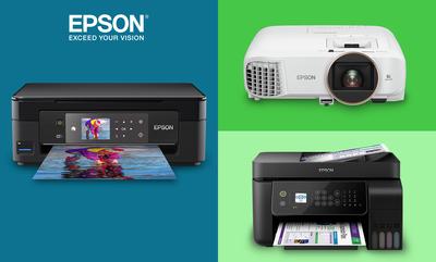 Huge Savings on Epson Printers & Projectors