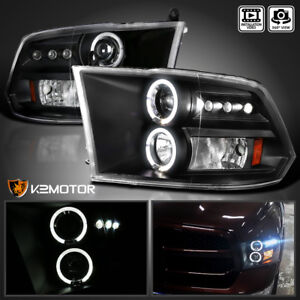 Details about For 2009-2018 RAM 1500 2010-2018 RAM 2500/3500 Halo Projector on dodge truck headlights, dodge ram headlights led strip, dodge challenger halo headlights, dodge charger oracle halo lights, 2011 dodge ram anzo projector headlights, black lexus gs300 ccfl halo projector headlights, dodge ram with projector headlights, 2004 dodge ram headlights, dodge ram 1500 led headlights, chevy malibu halo headlights, hid halo projector headlights, dodge ram halo projector fog lights, dodge ram led fog lights, 1998 chevy blazer hid headlights,