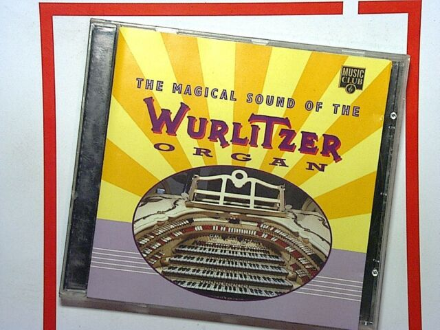 Various Artists - Magical Sound of Wurlitzer Organ (1995) CD Mint