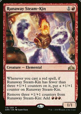 4X RUNAWAY STEAM-KIN NEAR MINT MAGIC THE GATHERING