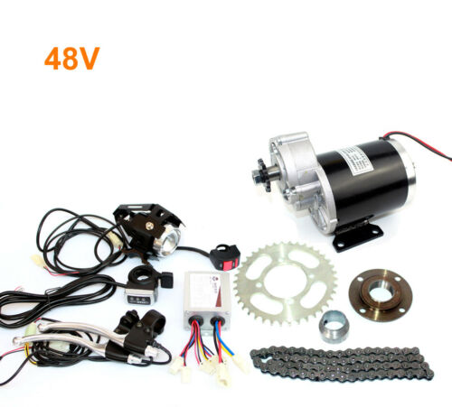 36V48V 600W Electric Trike Brushed Conversion Kit With Pedal Accelerator Electri