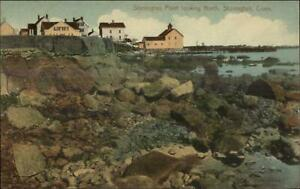 Stonington-CT-Homes-on-Point-c1910-Postcard