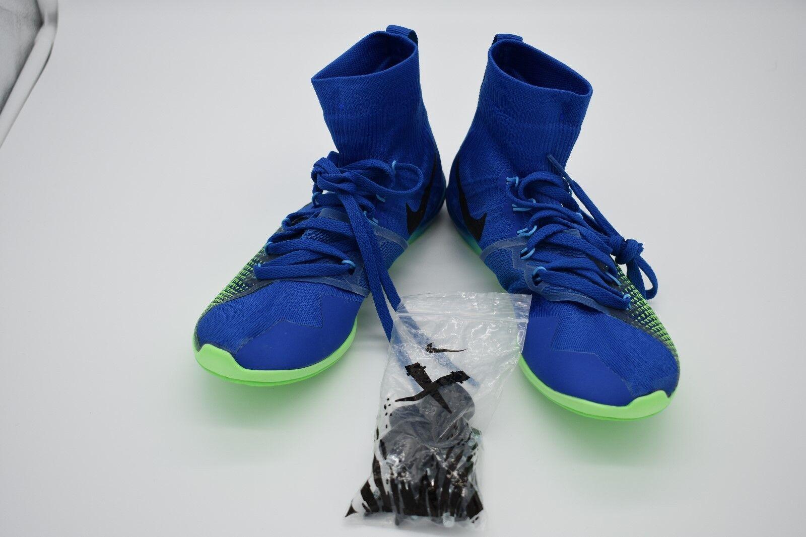 Nike Zoom Azul Victory 4 picos 878804-403 Azul Zoom Verde unisex XC pista hombres cómodos e6e7f1