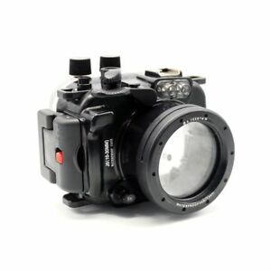40M 130ft Underwater Diving Waterproof Housing Case for Nikon J5 Camera 10mm