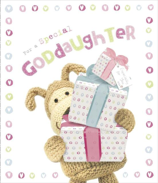 BOOFLE FOR A SPECIAL GODDAUGHTER BIRTHDAY CARD NEW GIFT