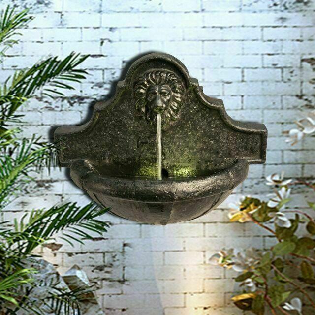 Peaktop Vfd8433uk Outdoor Indoor Wall, Outdoor Wall Mounted Water Fountains