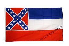 USA MISSISSIPPI Hissflagge AMERIKANISCHE Fahnen Flaggen 90x150cm