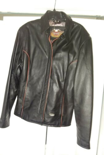ontworpen damesjas maat grote voering prachtig Harley zijden Davidson CodxWrBe