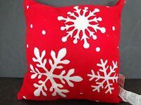 Snowflake Christmas Throw Pillow 12 Winter