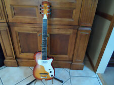 Vintage style Stratotone Custom Neck Through Guitar Curly Maple
