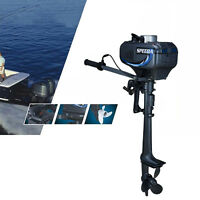 3.5hp 2 Stroke Power Outboard Motor Fishing Boat Engine Water Cooling System Usa