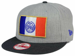 New Era New York Heather Action Flag 9FIFTY Snapback Adjustable Hat ... 39ee1634a55
