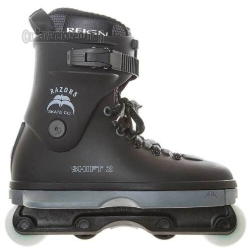 Inlineskating-Artikel Razors Shift 2 Aggressive Inline Skates Mens 7.0 NEW