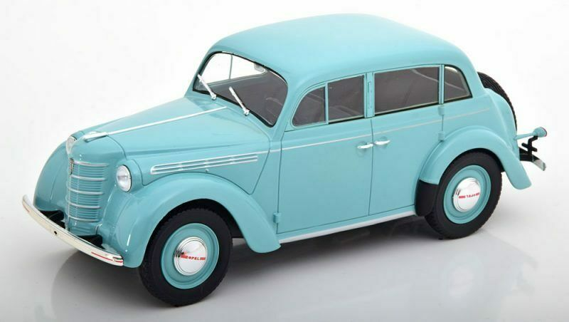 Opel Kadett K38 Light Turquoise 1938 1 18 Model KK SCALE