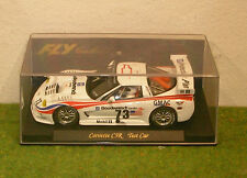 FLY E121 CORVETTE C5R TEST CAR SLOT CAR