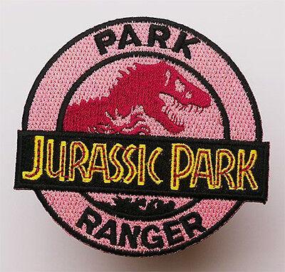 JURASSIC PARK - Park Ranger Uniform - Embroidered Iron-On Patch!