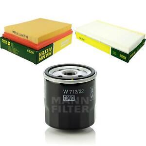 Mann-filter-Set-Oil-Air-Interior-Chevrolet-Corsa-Notchback-Estate