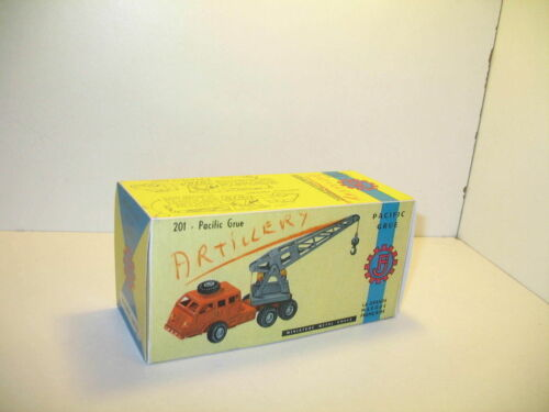 Schachtel repro Lastwagen pacific Kran Militär FJ n118
