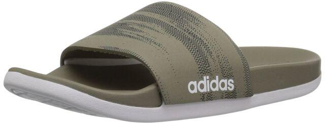 hot sale online 01ecf c1841 adidas Men s Adilette CF Link Gr Slide Sandal 14 D(m) US Trace Cargo ...