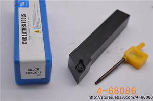 SDJCR2020K11 93 degree external turning tool holder and lathe tool holder
