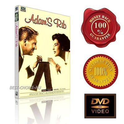 Adam's Rib (1949) - Spencer Tracy &  Katharine Hepburn -  NEW DVD
