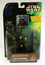 star wars potf Electronic Power F/X Luke Skywalker MOC