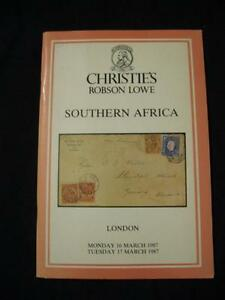 CHRISTIES-ROBSON-LOWE-AUCTION-CATALOGUE-1987-SOUTHERN-AFRICA