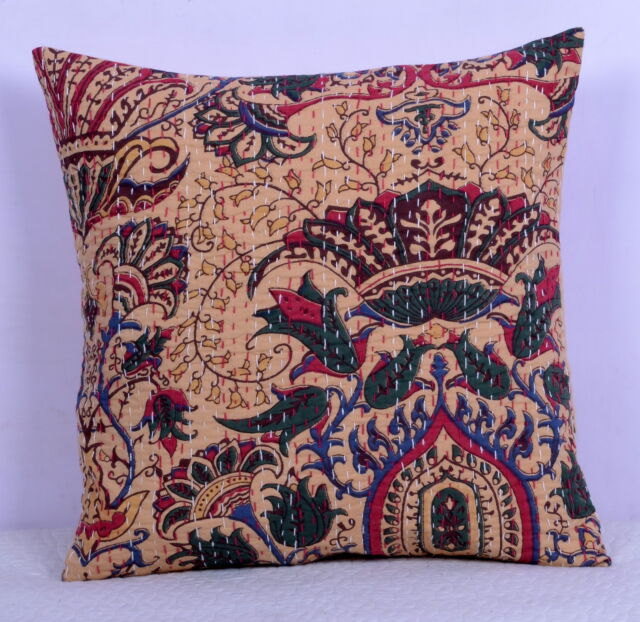 10 PC Kantha Quilt & 4 Cushion cover Custom List For (*rubifrench***)