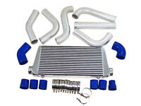 Front Mount Intercooler Diy Kit Ford Mustang Turbo Or Supercharger On Pass-blue