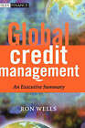 Global Credit Management: An Executive Summary by Ron Wells (Hardback, 2003)