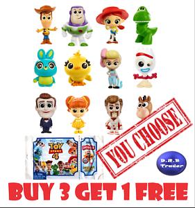 Disney-Pixar-Toy-Story-4-Minis-BUY-3-GET-1-FREE-Series-1-2-amp-3-You-Choose