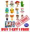 Disney-Pixar-Toy-Story-4-Minis-BUY-3-GET-1-FREE-Series-1-2-amp-3-You-Choose thumbnail 1