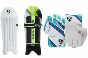 SG Wicket Keeping Gloves Pad For unisex
