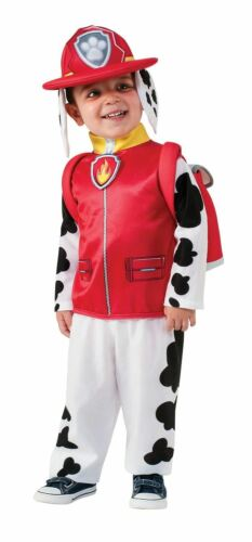 Paw Patrol Marshall Costume Fancy Dress Cartoon Fireman Kids Child Outfit