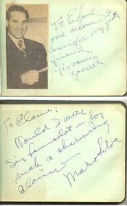 Autograph-book-containing-1940s-opera-singers-039-signatures-some-with-pictures